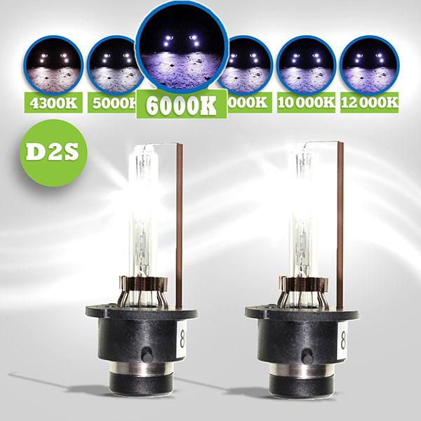 Hid xenon lampen d2s 6000k bmw e46 hl automotive for Lampen 6000 kelvin