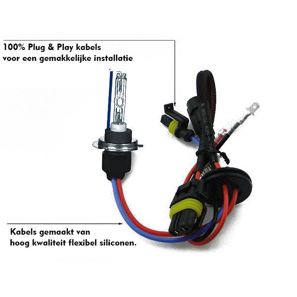 Hid xenon lampen h7 6000k bmw e60 e61 hl automotive for Lampen 6000 kelvin