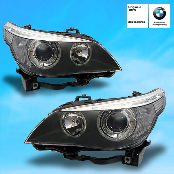 Angel Eyes Xenon Koplampen Bmw E60 E61 Met Actieve Bochtverlichting Hl Automotive