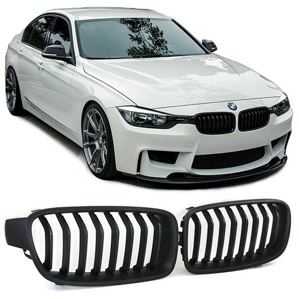 grille bmw f30 f31 mat zwart hl automotive. Black Bedroom Furniture Sets. Home Design Ideas
