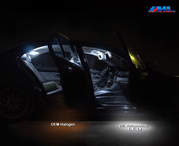 Led interieurverlichting bmw e46 coupe 4 cilinder hl for Led verlichting interieur