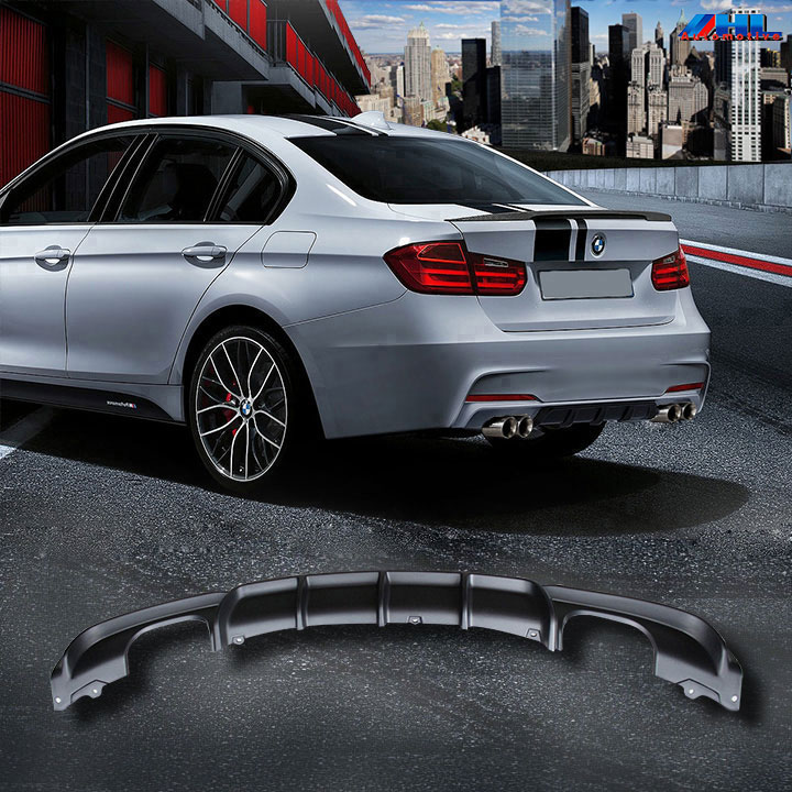 M Performance Diffuser Bmw F30 F31 Dubbele Uitlaten Hl