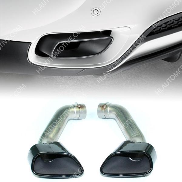 Uitlaat Sierstuk Black Chrome Bmw X5 E70 Lci Hl Automotive
