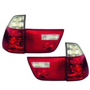 Achterlichten-BMW-E53-99-03-Wit-Rood