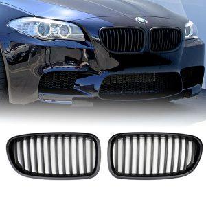 BMW-F10-F11-Mat-Zwart-Grille-Nieren