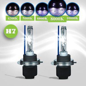 H7-xenon-lampen 8000k