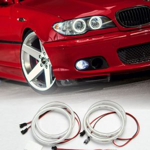 SMD-LED-Angel-Eyes-ringen-BMW-E46-Coupe-Cabrio-Facelift