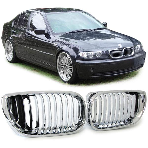 bmw-e46-sedan-facelift-grille-chroom