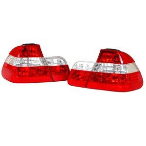 Achterlichten BMW E46 Sedan 98-01 Wit/Rood