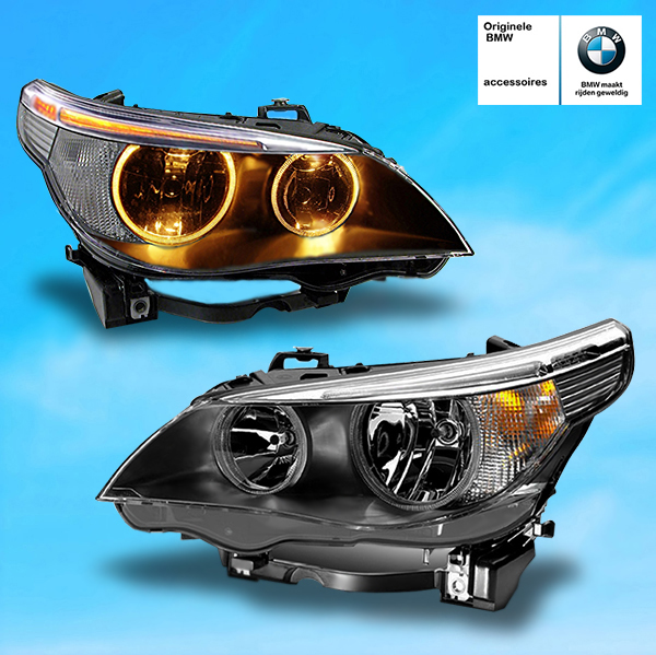 Angel Eyes Halogeen Koplampen Bmw E60 E61 Hl Automotive