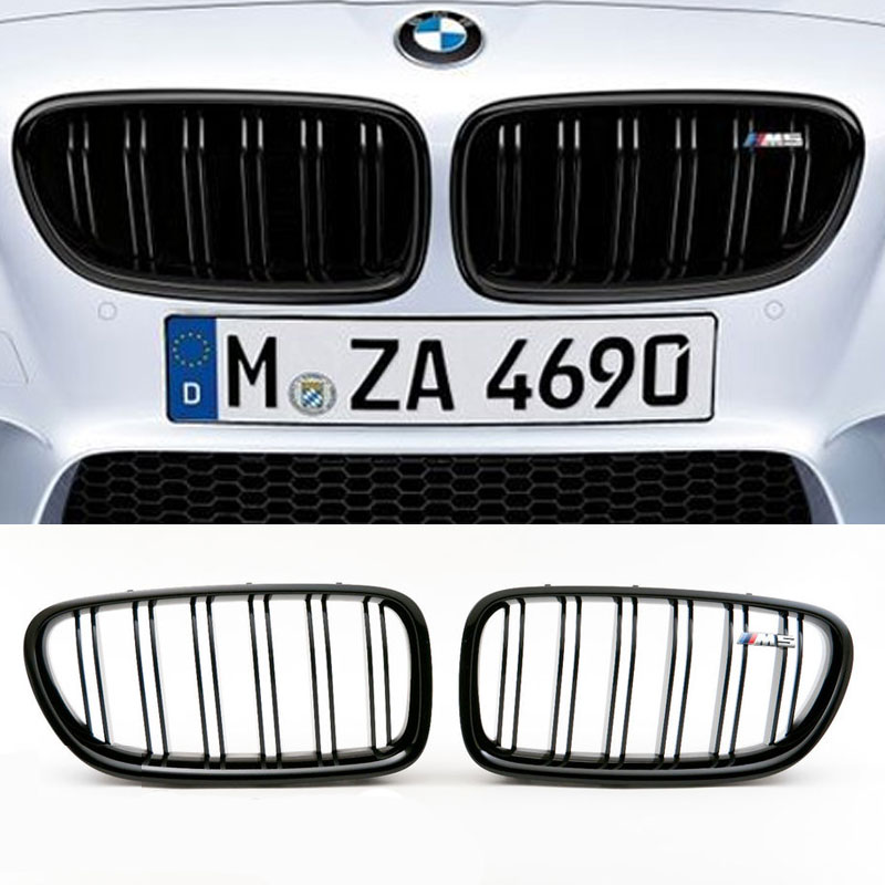 bmw m performance m5 grille nieren bmw f10 f11 hl automotive. Black Bedroom Furniture Sets. Home Design Ideas