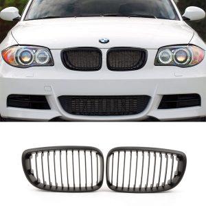 BMW-E87-E81-LCI-Nieren-Grille-Zwart