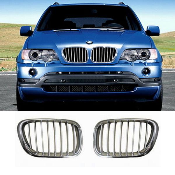 Grille-Nieren-BMW-E53-Chroom-Titaan