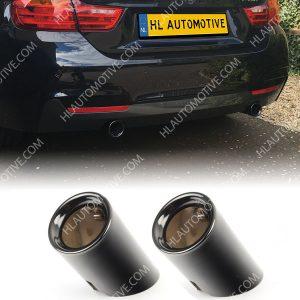 BMW-Uitlaat-Sierstuk-Zwart-Chroom-x35i