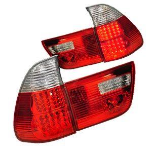 LED-Achterlichten-BMW-E53-99-03-Wit-Rood