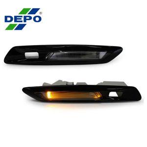 LED-Zijknipperlichten-BMW-F10-F11-Hoogglans-Zwart