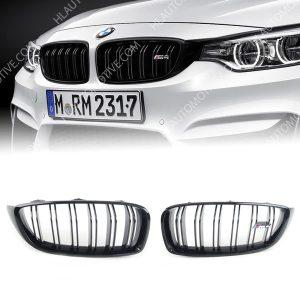 M4-Grille-Nieren-BMW-F32-F33-F36-F82-F83-hoogglans-Zwart