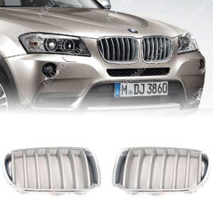 Grille-Nieren-BMW-X3-F25-Titaan-51117237421