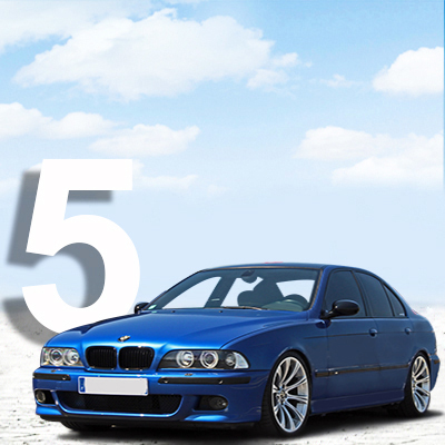 BMW 5-serie E39 Sedan