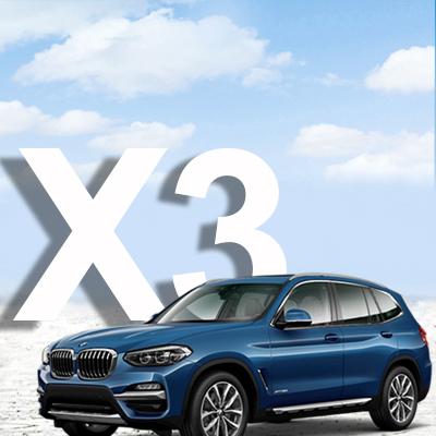 BMW X3-serie F25