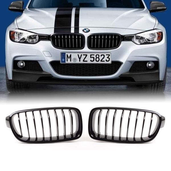 M-Performance-Grille-BMW-F30-F31-Glanzend-Zwart