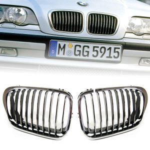 Grille-Nieren-BMW-E46-Sedan-Touring-Chrome-OEM