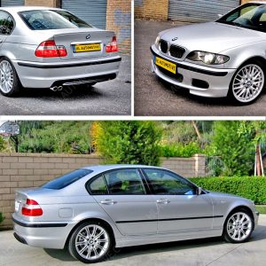 M Pakket BMW E46 sedan