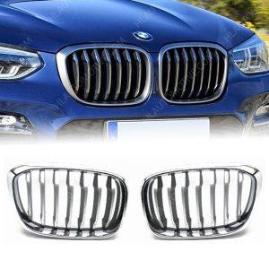 BMW X3 G01 Grille Nieren Mat Chroom