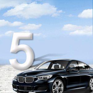 BMW 5-serie F07 GT