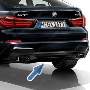 M DIFFUSER 550 UITLATEN BMW F07 GT LCI 51128056128