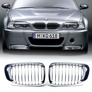 Grille Nieren BMW E46 Coupe Chrome OEM 5113820868