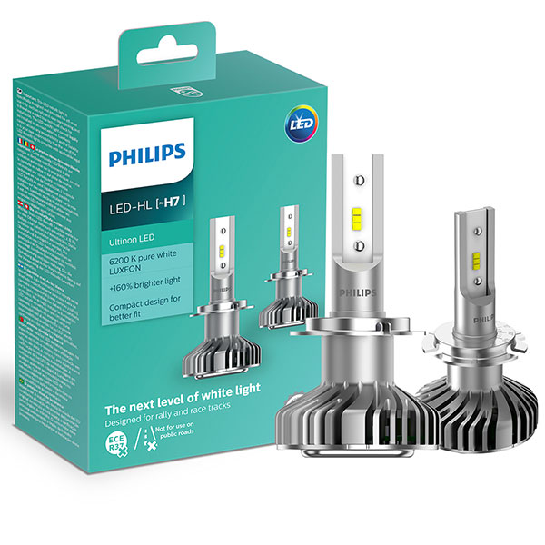 h7 led philips ultinon lampen hl automotive. Black Bedroom Furniture Sets. Home Design Ideas