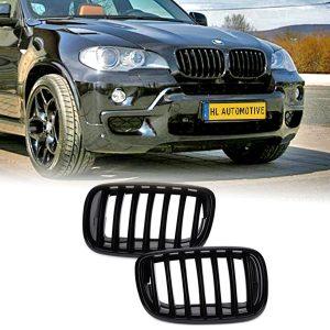 Nieren Grille BMW E70 E71 E72 Hoogglans Zwart