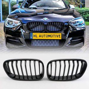 Nieren BMW F20 F21 Hoogglans Zwart