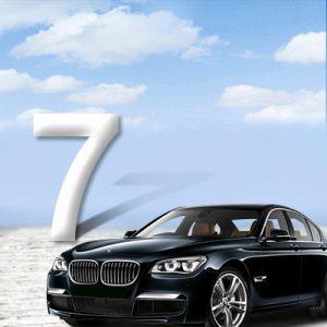 BMW 7-serie F01 08-15